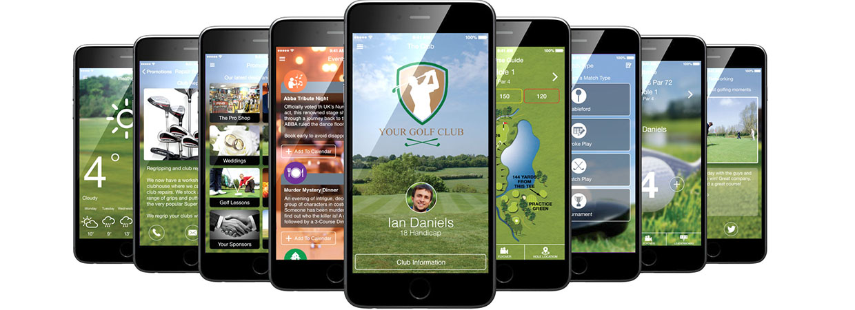 CourseMate Golf Club App