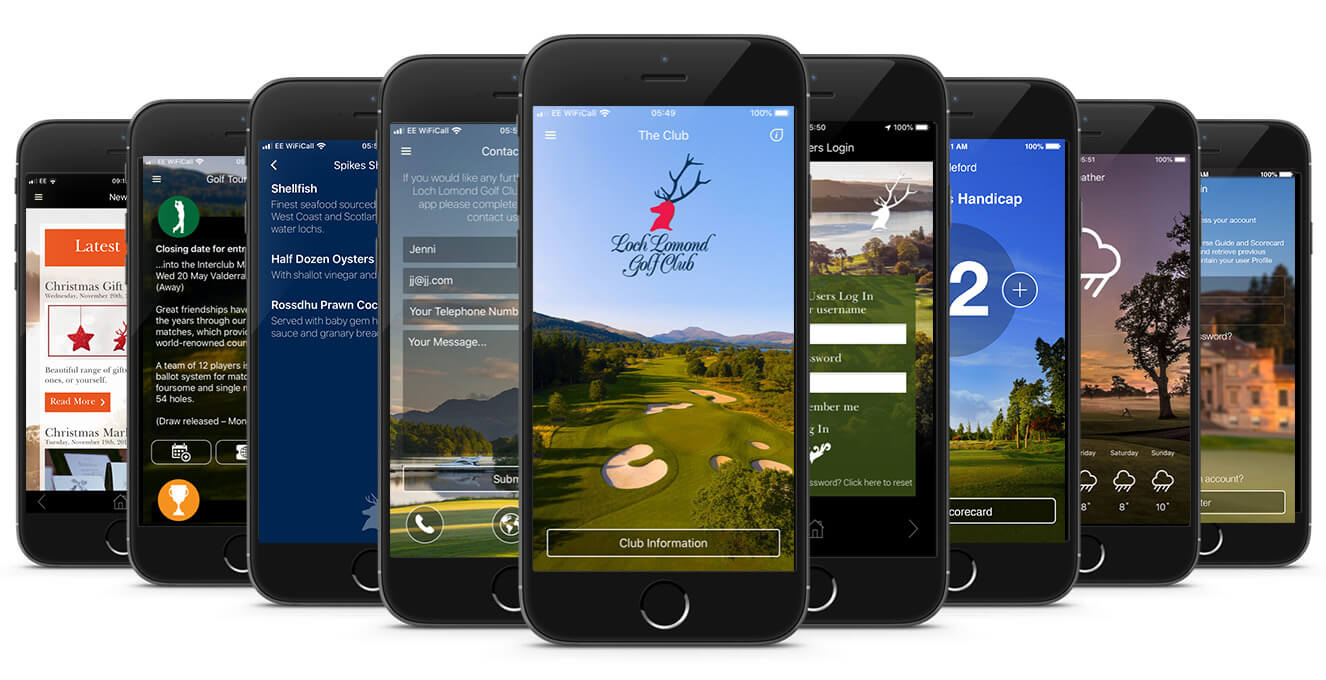 Loch Lomond CourseMate App Compliation